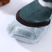 Комплект носков-следов (5 пар) с силиконовым фиксатором на ноге, Набор носков Размер 36-41, фото 3