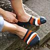 Комплект носков-следов (5 пар) с силиконовым фиксатором на ноге, Набор носков Размер 36-41, фото 5