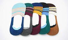 Комплект (5 пар) цветных носков-следов Набор носков Размер 36-41, фото 2