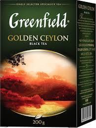 Чай Greenfield листової Golden Ceylon 200г
