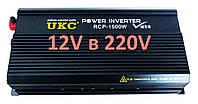 Инвертор преобразователь напряжения Power Inverter UKC 1500W 12V в 220V