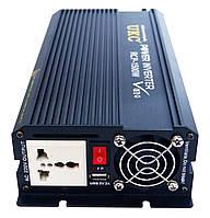 Инвертор преобразователь напряжения Power Inverter UKC 1500W 12V в 220V, фото 3