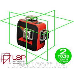 Лазерный уровень LSP LX-3D green professional
