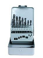 Набір свердл (1-10 мм з кроком 0.5 мм) 19-ч. DIN 338 HSS-R  GSR Німеччина