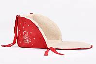 Матрасик для санок Baby Breeze Красный (0301)