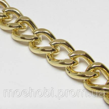 Цепь  (2.5мм) золото, 5 метров CZ-0033, фото 2