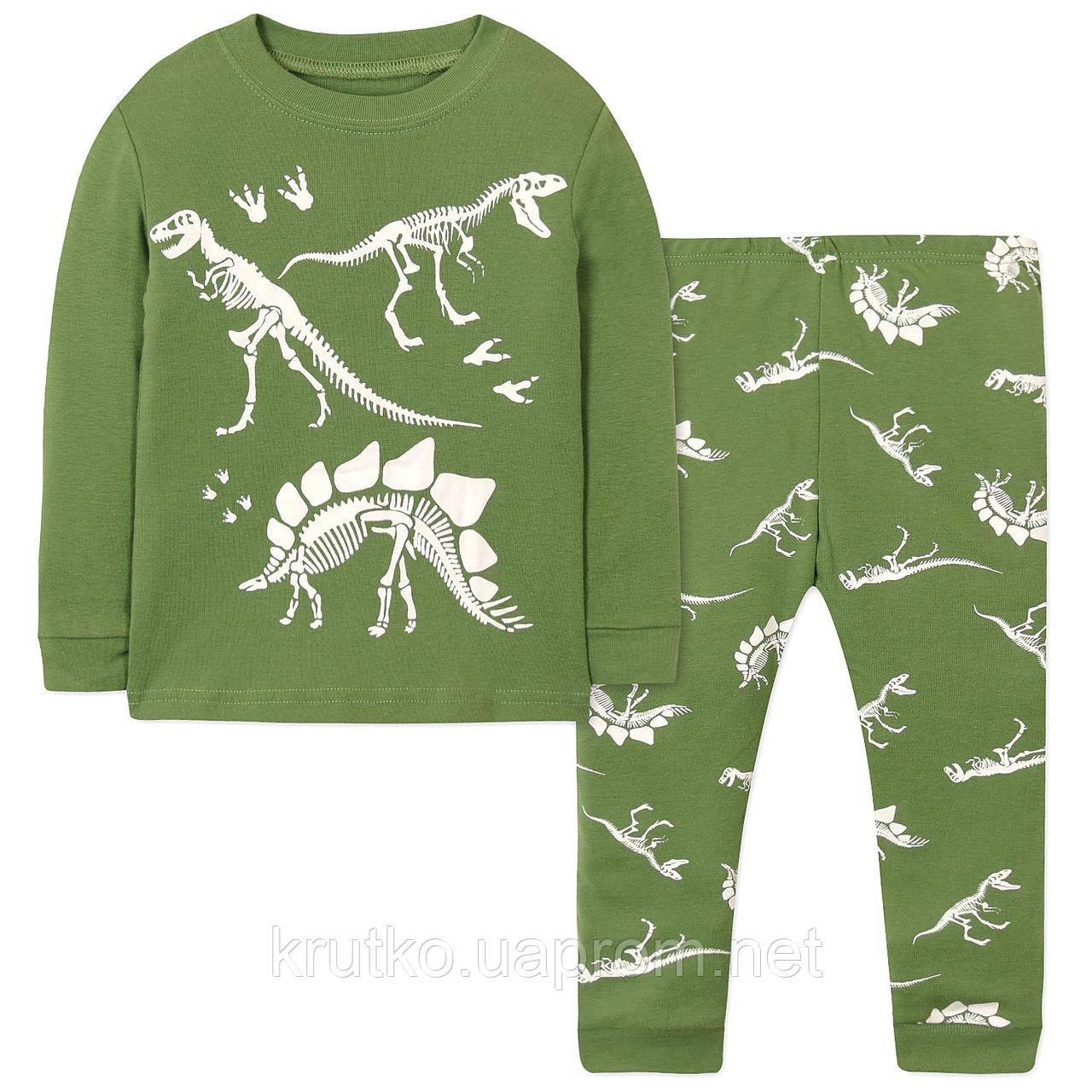 Пижама Динозавры Wibbly pigbaby