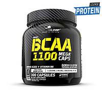 Аминокислоты bcaa Olimp BCAA Mega Caps 1100 (300 caps)