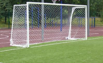 """Сітка футбольна капронова """"Юніор"""", д-р шнура 4,5 мм (для воріт 5мх2м)"""
