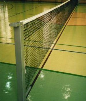 Сетка капроновая для большого тенниса мастерская, д-р шнура 3,5мм, белая