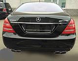 Фонари задние на Mercedes S-Сlass W221, фото 5