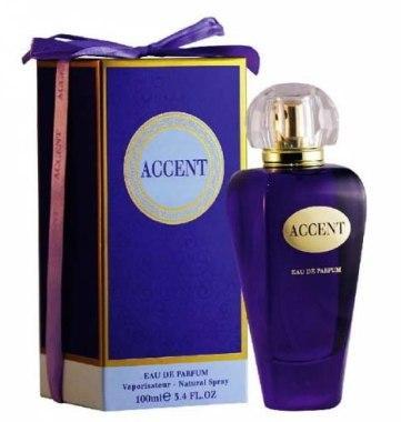 Женская парфюмированная вода Accent 100ml.Fragrance World.(100% ORIGINAL)