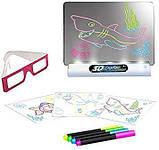 Магическая 3d доска для рисования, 3d magic drawing board, детская доска для рисования, Детские товары, фото 2