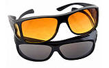 Антибликовые очки для водителей HD Vision, 2 шт (для дня и ночи), очки антифары, Водительские очки/ магазин, фото 4