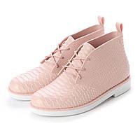 Женские оригинальные стильные пудровые пахнущие ботинки Melissa, фото 1