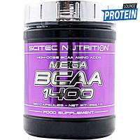 Аминокислоты bcaa Scitec Nutrition MEGA BCAA 1400 (180 caps)