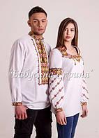 Парні вишиванки.Сорочка жіноча + сорочка чоловіча МВ-112п, фото 1