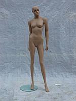 Манекен женский гипсовый телесный