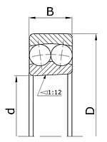 Подшипник 1309K (111309) ZVL Slovakia