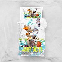 Постельное бельё Eponj Home 3D Micro Satin - Hey Beyaz подростковое
