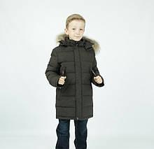 "Зимняя удлиненная парка для мальчика ""Адамо"", KIKO"