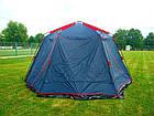 Шатер TrampПалатки шатры Mosquito (зелений, синій). Беседка тент шатер для дачи. Палатки шатры разборные, фото 7