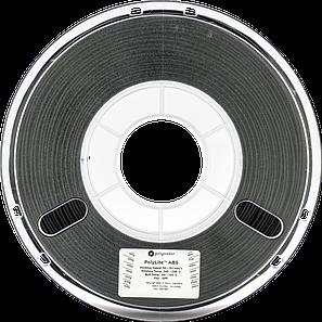 Пластик в котушці ABS PolyLite 1,75 мм, Polymaker, 1кг чорний, фото 2
