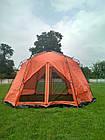 Шатер TrampПалатки шатры Mosquito (зелений, синій). Беседка тент шатер для дачи. Палатки шатры разборные, фото 4