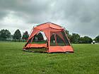 Палатка шатер с москитной сеткой Tramp Lite Mosquito orang TLT-009. Садовый павильон с москиткой, фото 4