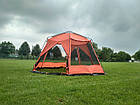 Шатер TrampПалатки шатры Mosquito (зелений, синій). Беседка тент шатер для дачи. Палатки шатры разборные, фото 9