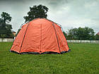 Шатер TrampПалатки шатры Mosquito (зелений, синій). Беседка тент шатер для дачи. Палатки шатры разборные, фото 10