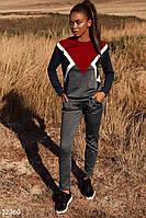 Трикотажный спортивный костюм Разные цвета Все размеры
