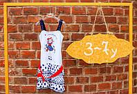 Детский сарафан для девочки Одежда для девочек 0-2 Byblos Италия BJ1336