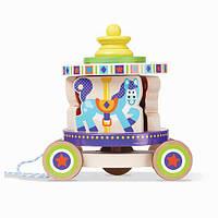 Первая деревянная игрушка Карусель, MD13616, Melissa&Doug