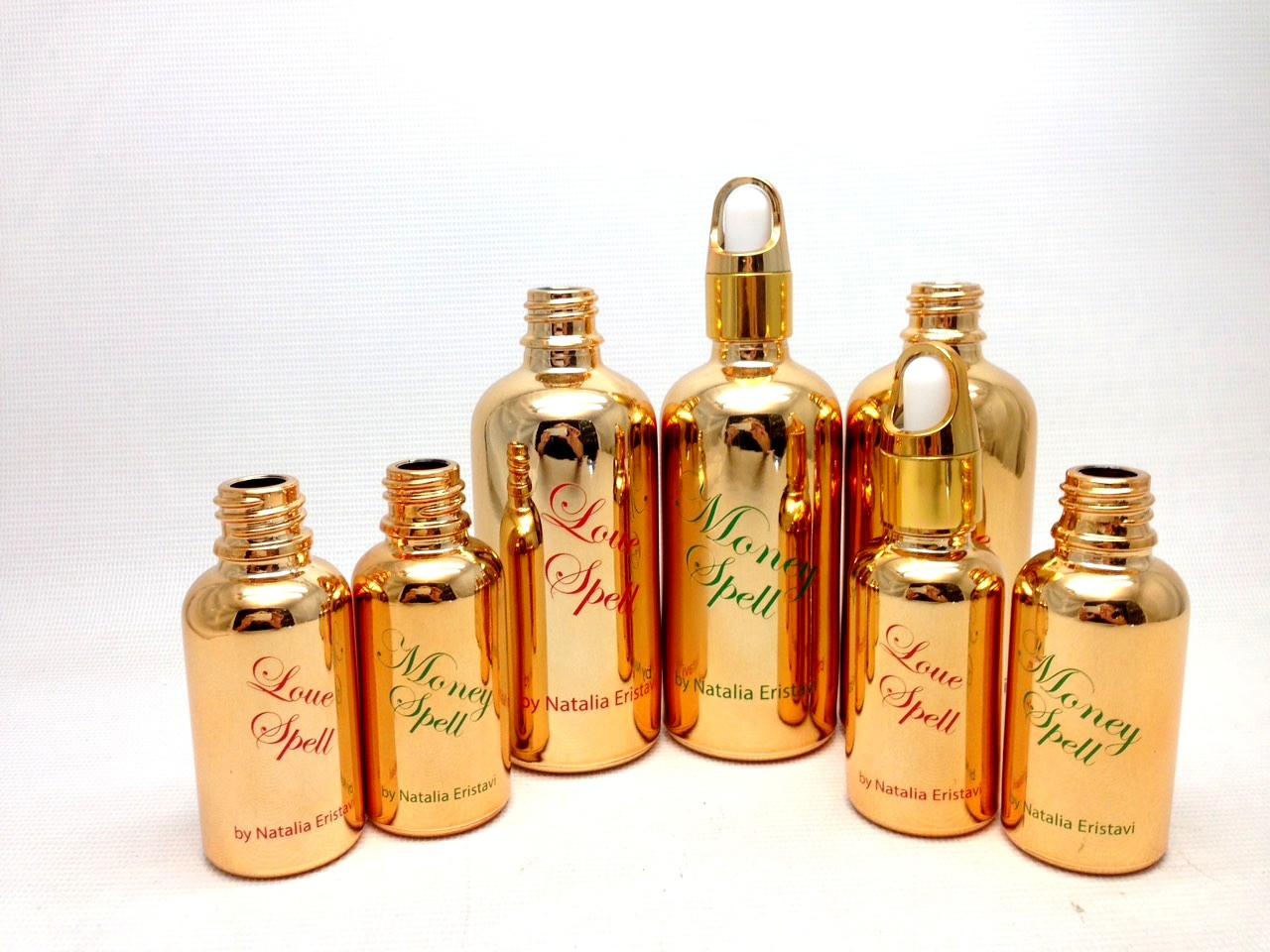 Безобжиговая деколь, брендирование упаковки для косметики и парфюмерии