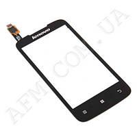 Сенсор (Touch screen) Lenovo A376 чёрный