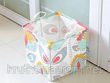 Корзина для игрушек, белья, хранения Нежные растения Berni, фото 2