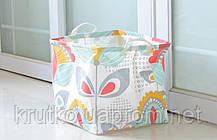 Корзина для игрушек, белья, хранения Нежные растения Berni, фото 3