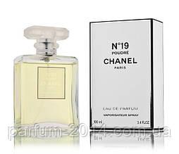 Женская парфюмированная вода Chanel No 19 Poudre (реплика)