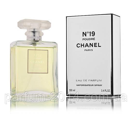 Женская парфюмированная вода Chanel No 19 Poudre (реплика), фото 2