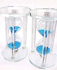 Часы песочные стеклянные сувенирные, фото 3