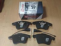 """Колодки тормозные передние на VW TRANSPORTER T5 1.9-3.3 2003>; """"SOLGY"""" 209026 - производства Испании, фото 1"""