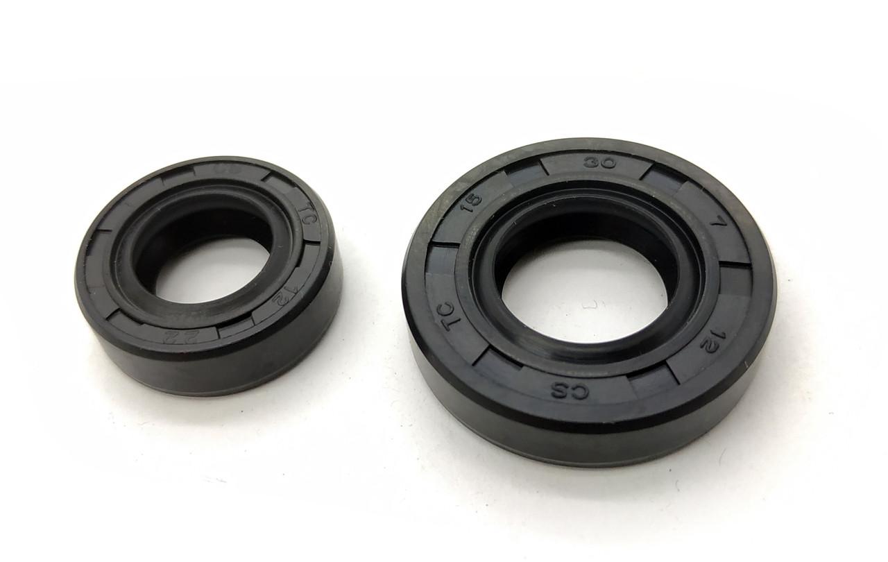 Сальник коленчатого вала для мотокос 2 шт (правый, левый) серии 40 - 51 см, куб