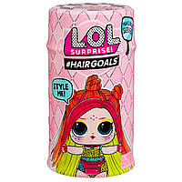 Игровой набор с куклой L.O.L.Модное перевоплощение в дисплее серии «Hairgoals» (в ассортименте) (556220-W2)