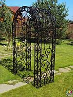 Кованые арки для растений
