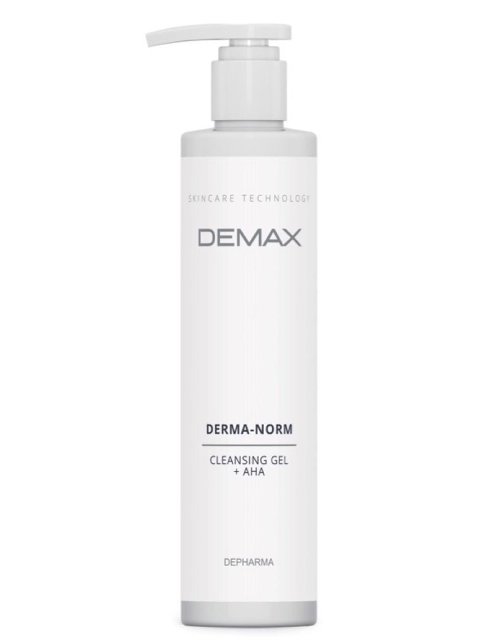 Гель для лица Очищающий для комбинированной кожи Demax АНА Derma norm cleansing gel 250ml арт.186-1