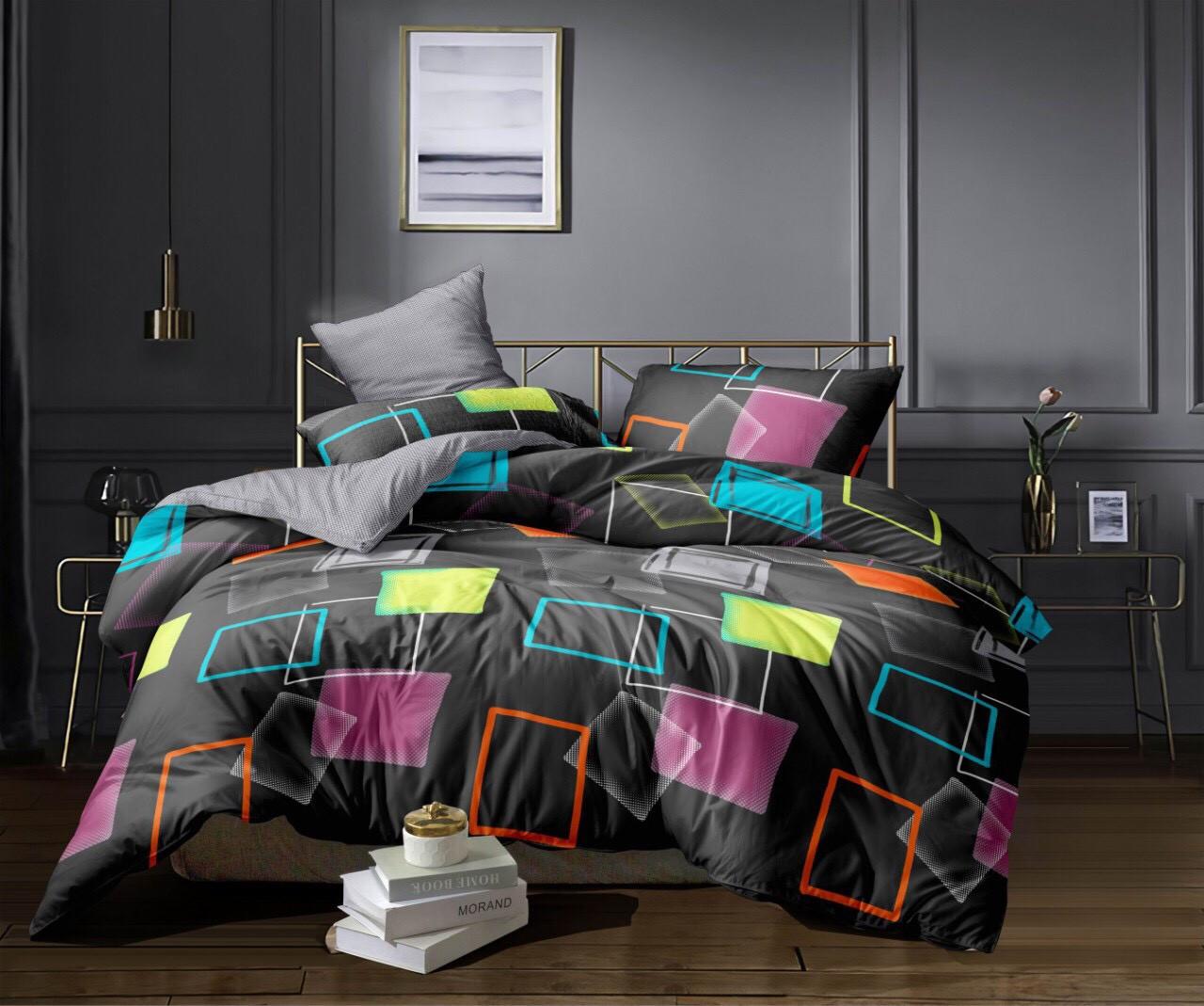 Полуторный комплект постельного белья (сатин, 150х220 см)