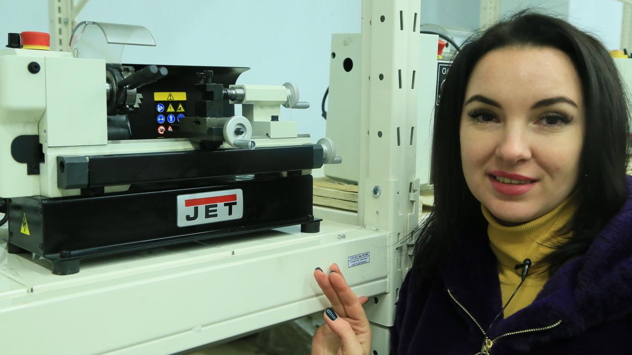 Токарный станок JET BD-3 (50000080M)