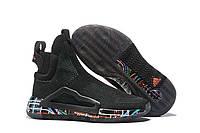 Мужские кроссовки Adidas N3XT L3V3L Core Black/True Green-Clear Pink Реплика
