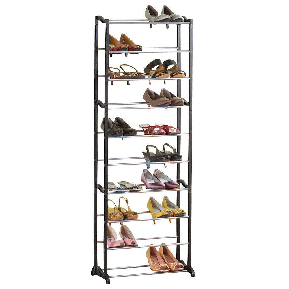 Стойка для обуви «Amazing Shoe Rack» на 30 пар Black (2820)